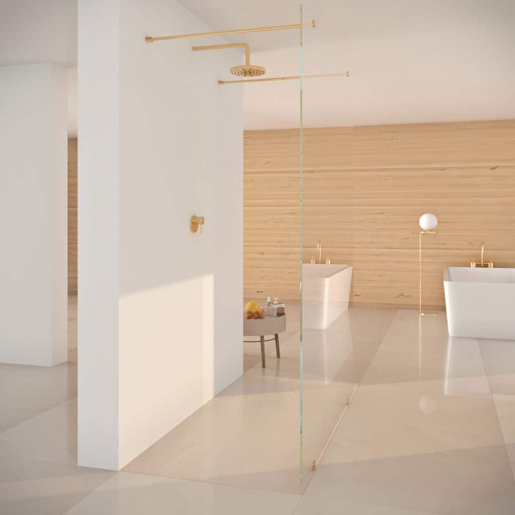 Золотая ванная. Визуализация 3Ds MAX