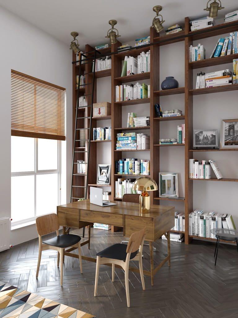 Визуализация рабочего кабинета. Студия 3D Maximum